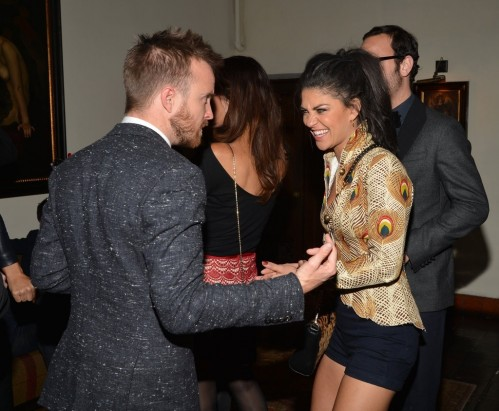 Aaron Paul Gave Jessica Szohr Laugh And Jessica Lowndes