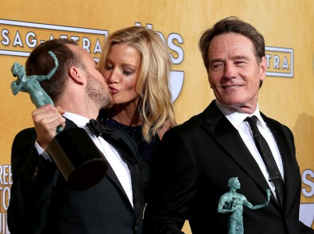 Anna Gunn Aaron Paul Kiss Breaking Bad