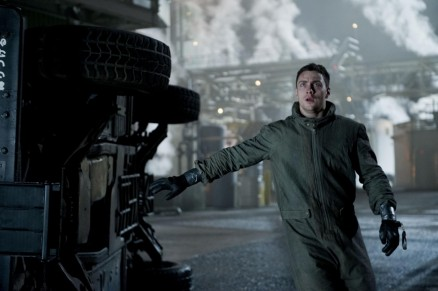 Still Of Aaron Taylor Johnson In Godzilla Large Picture Ripped