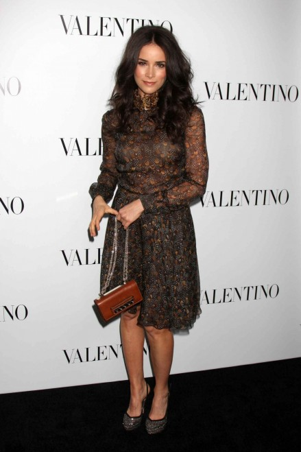 Abigail Spencer Valentino Th Anniversary And New Flagship Store Opening Th March