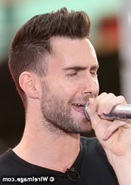 Awesome Adam Levine New Hairstyles