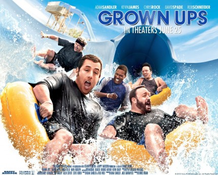 Adam Sandler In Grown Ups Wallpaper