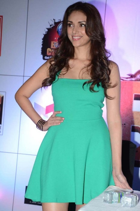 Aditi Rao Hydari At Boss Movie Press Meet Movies