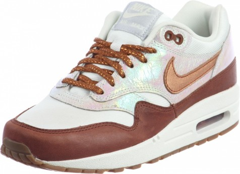 Nike Air Max Premium Schuhe Orange Silver Zoom