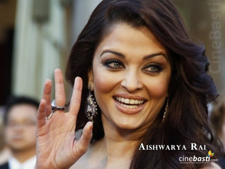 Aishwarya Rai Bachchan Golden Hq Wallpaper March