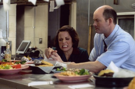 Still Of Alanna Ubach And David Koechner In Waiting