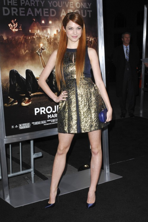 Alexis Knapp Project Premiere In Los Angeles February Photo Project