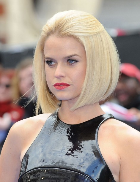 Alice Eve At Men In Black Premiere In London Men In Black