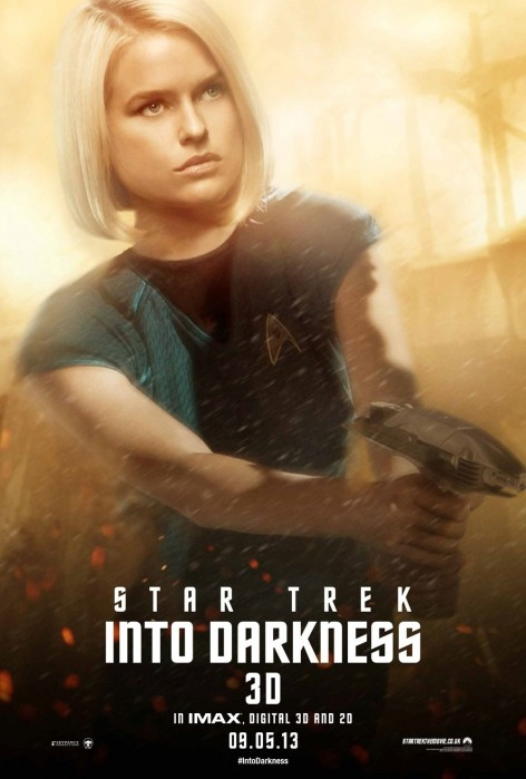 Star Trek Into Darkness Poster Alice Eve Dr Marcus Jiggles Gif