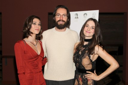 Lizzy Caplan Martin Starr And Alison Brie At Event Of Save The Date