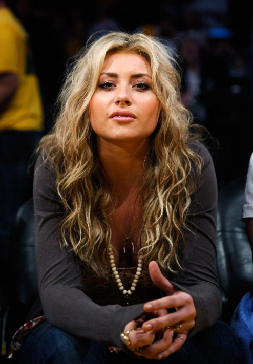 At Staples Center For Lakers Game Alyson Michalka