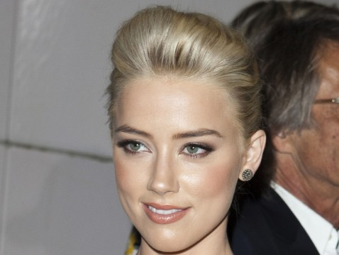 Amber Heard The Rum Diary Premiere