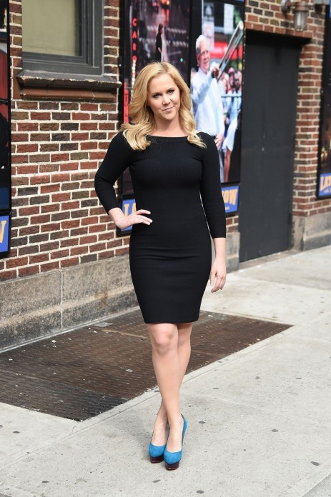 Amy Schumer Leaves David Letterman Show In New York Anthony Jeselnik
