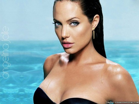 Angelina Jolie On Beach Celebrity Wallpapers Beach