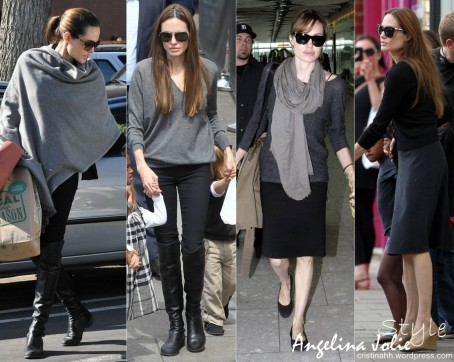 Angelina Jolie Style Fashion