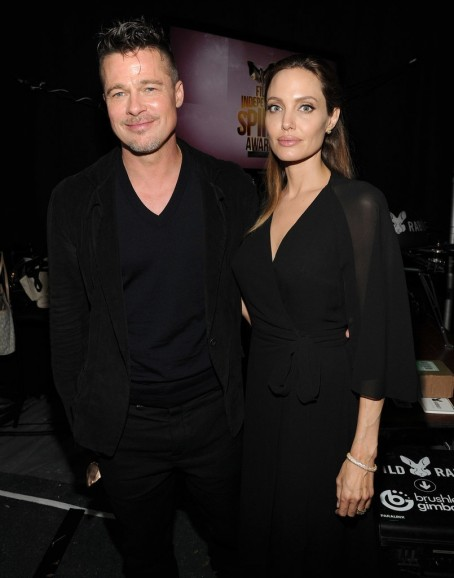 Brad Pitt Angelina Jolie Spirit Awards