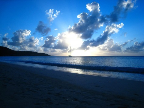 Nature Landscapes Other Beautiful Sunset Anguilla Wallpaper