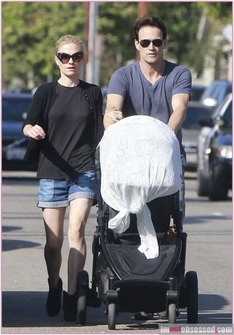 Anna Paquin Stephen Moyer Twins
