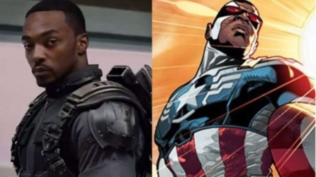 Anthony Mackie Captain America