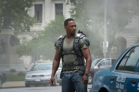 Captain America Official Photo Anthony Mackie Sam Wilson Jet Pack