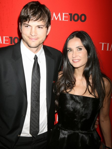 Ashton Kutcher And Demi Moore And Demi Moore