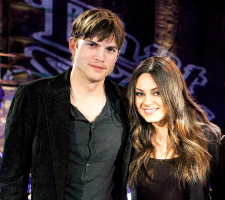 Ashton Kutcher Mila Kunis Zoom