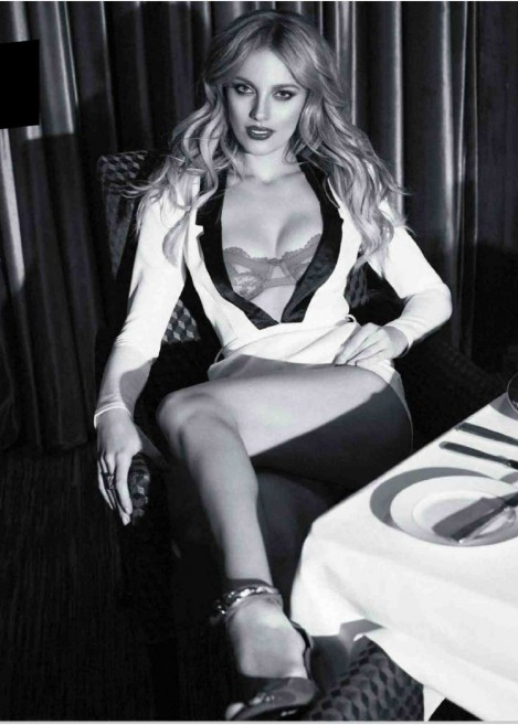 Bar Paly In Esquire Magazine Mexico May Issue