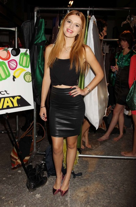 Bella Thorne Nolcha Fashion Week New York Spring Collections