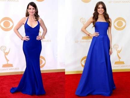 Emmys Best Dressed Tina Fey And Allison Williams Emmys