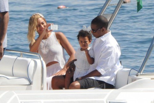 Jay Beyonce And Ivy Blue And Jay