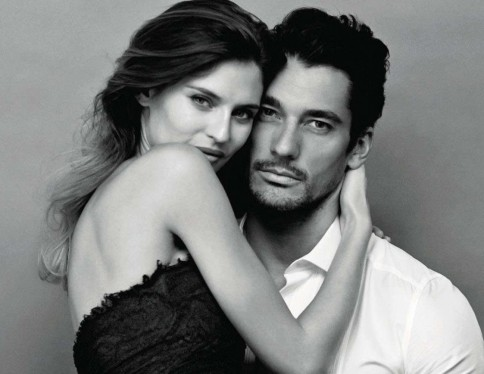 Bianca Balti David Gandy Giovanni Castel Amica May