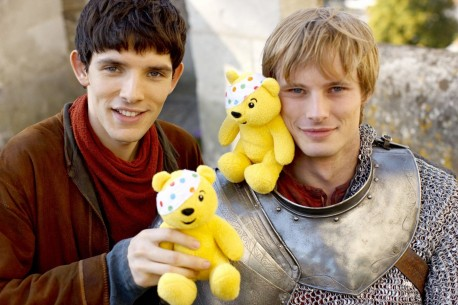 Children In Need Bradley James And Colin Morgan