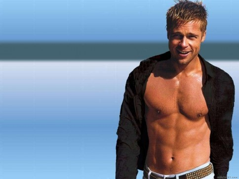 Brad Pitt Hd Desktop Background Wallpaper