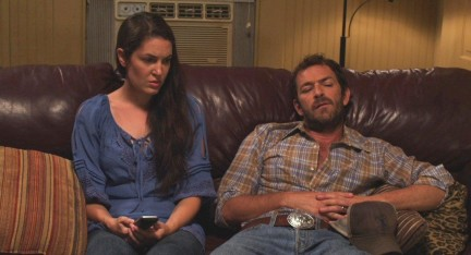 Still Of Luke Perry And Breann Johnson In Red Wing Large Picture