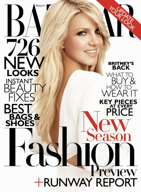 Hbz Bbritney Bspears Bns Bcover Fashion