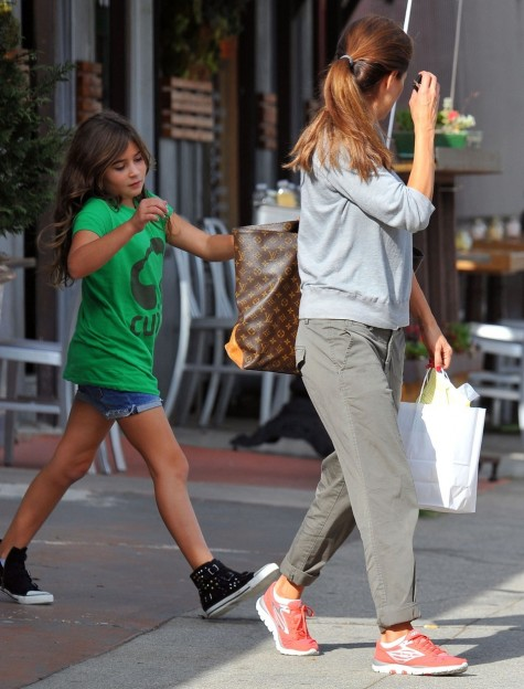 Brooke Burke Daughter Saturday In Santa Monica