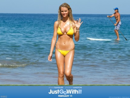 Brooklyn Decker In Just Go With It Wallpaper Just Go With It