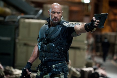 Gi Joe Retaliation Dwayne Johnson Body