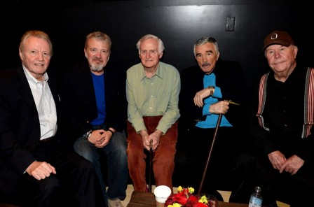 Burt Reynolds Jon Voight Ned Beatty John Boorman And Tom Brown At Event Of Deliverance Deliverance