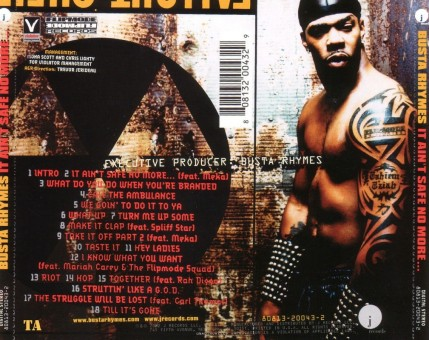 Busta Rhymes It Aint Save No More Back