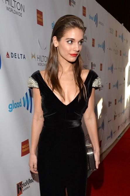 Caitlin Stasey At Th Annual Glaad Media Awards In Los Angeles