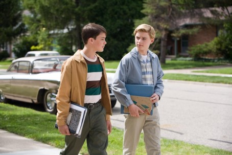 Still Of Callan Mcauliffe And Israel Broussard In Flipped Large Picture