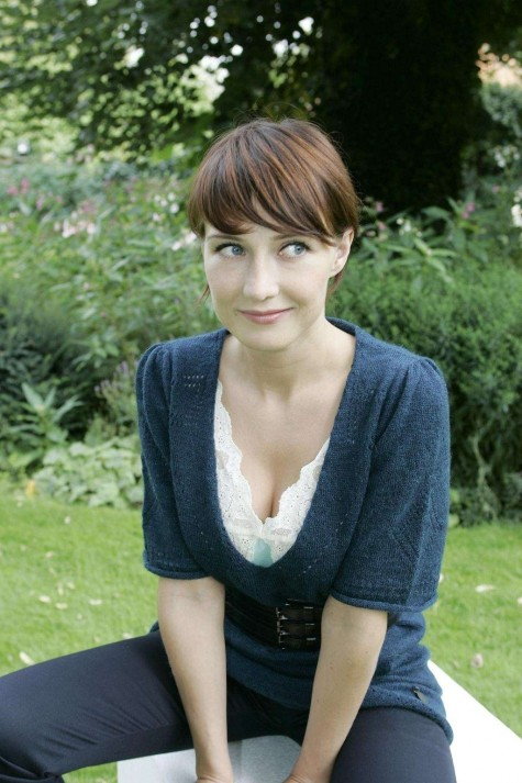 Carice Van Houten In Knitted Bow Front Blouse Photo