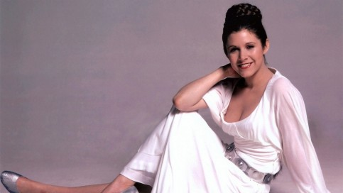 Carrie Fisher Hd Wallpaper