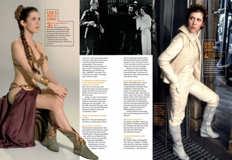 Star Wars Carrie Fisher Interview