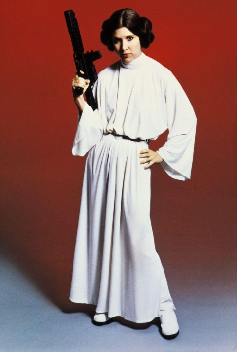 Still Of Carrie Fisher In Star Wars Episode Iv New Hope Large Picture Star Wars