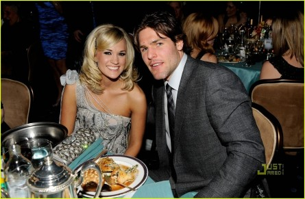 Carrie Underwood Mike Fisher Grammys Party Clive Davis Wedding