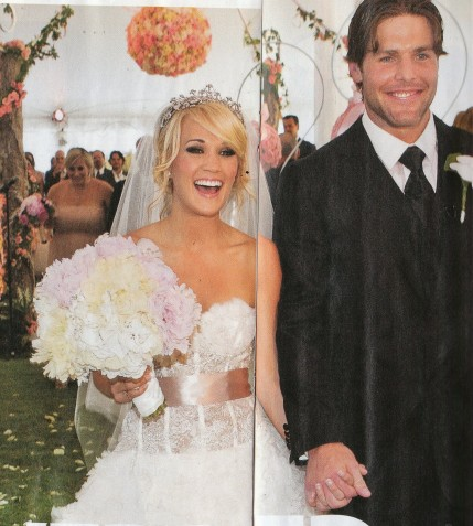 Celeb Wed Dress Carrie Underwood Wedding