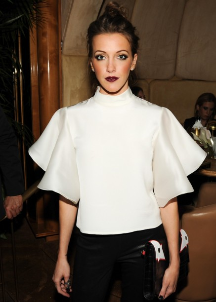 Afterparty In Celebration Of The Spring Runway Collections Katie Cassidy