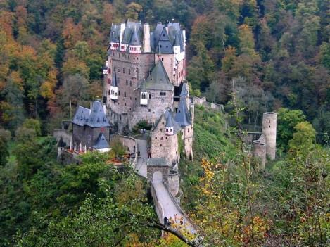 Burg Eltz Location
